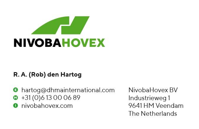 Huisstijl | Nieuwe positionering NivobaHovex