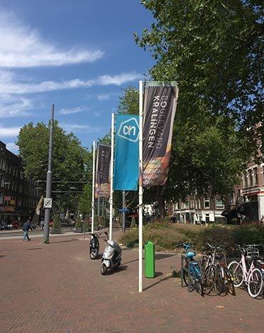 Banieren en ander promotiemateriaal   Positioneren van Boulevard Kralingen