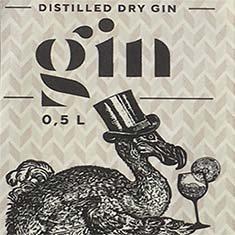 Logo Dodo Distillers | Food & Beverages | Dranklabel ontwerp