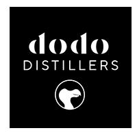DODO Distillers logo ontwerp