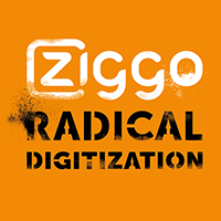 Ziggo radical digitization logo