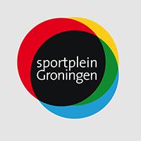 Sportplein Groningen logo ontwerp