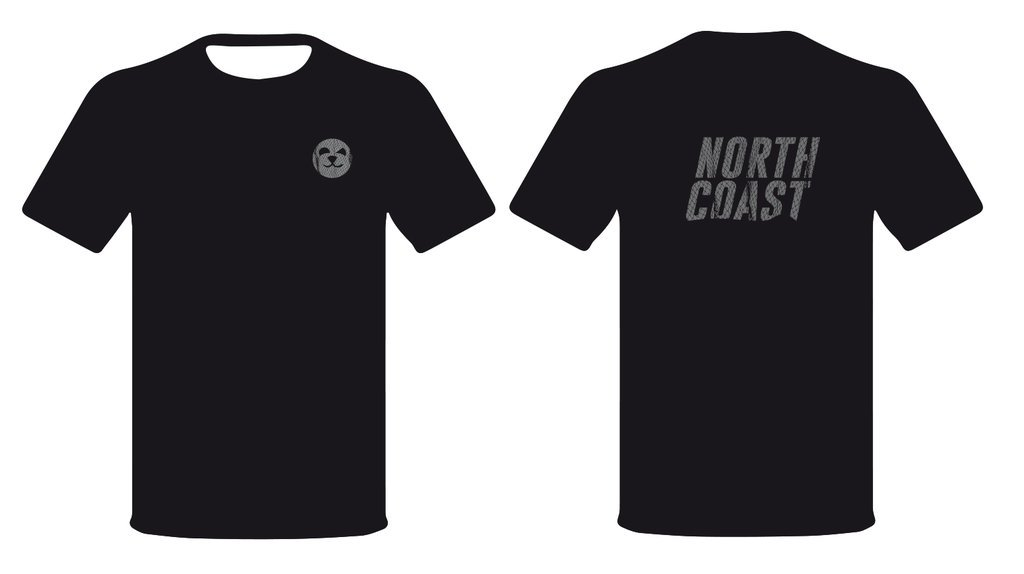 T-Shirtontwerp | North Coast | Schriever design