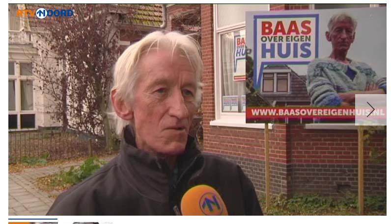 RTV Noord | Baas over eigen huis | Vastgoed communicatie door Schriever design