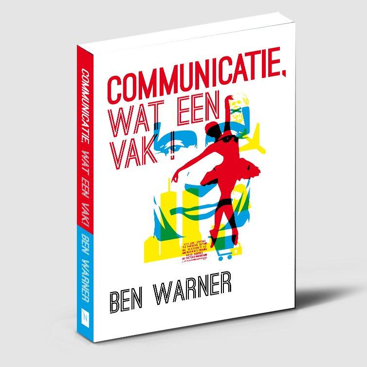 Boekillustratie en boekomslag voor Communicatie wat een vak