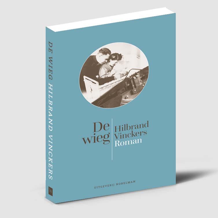Boekomslag ontworpen voor Hilbrand Vinckers, De wieg