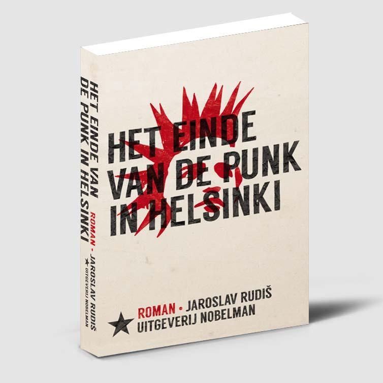 Boekontwerp: Het einde van de punk in Helsinki