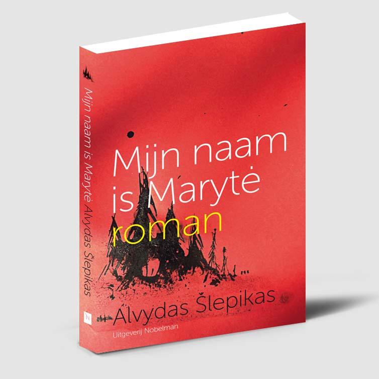 Boekomslag Mijn naam is Marythe