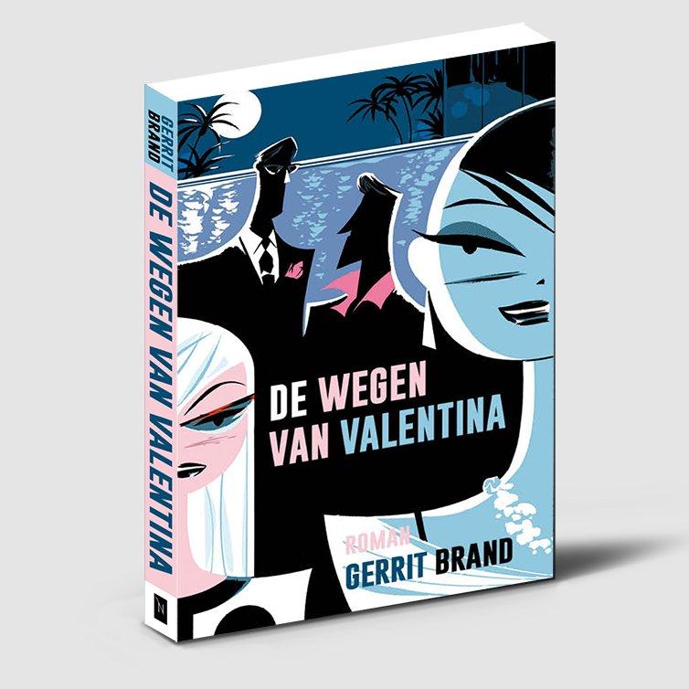 Boekontwerp - De wegen van Valentina