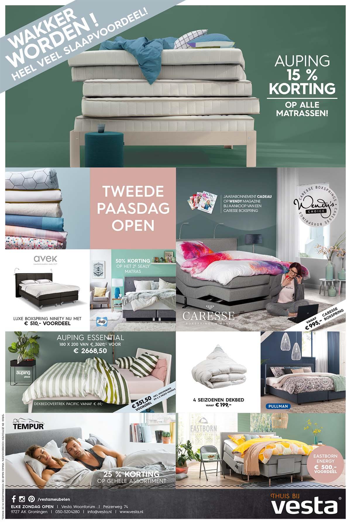 Advertentie ontwerp voor Vesta Groningen | Schriever design en concept