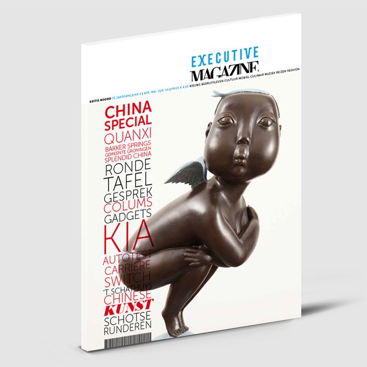Executive magazine | Schriever design | Magazine ontwerp
