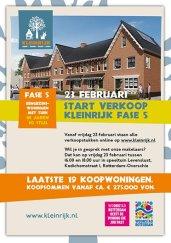 Flyer vastgoed drukwerk | Woonstad | Rotterdam
