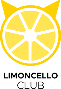 Limoncello Club logo design