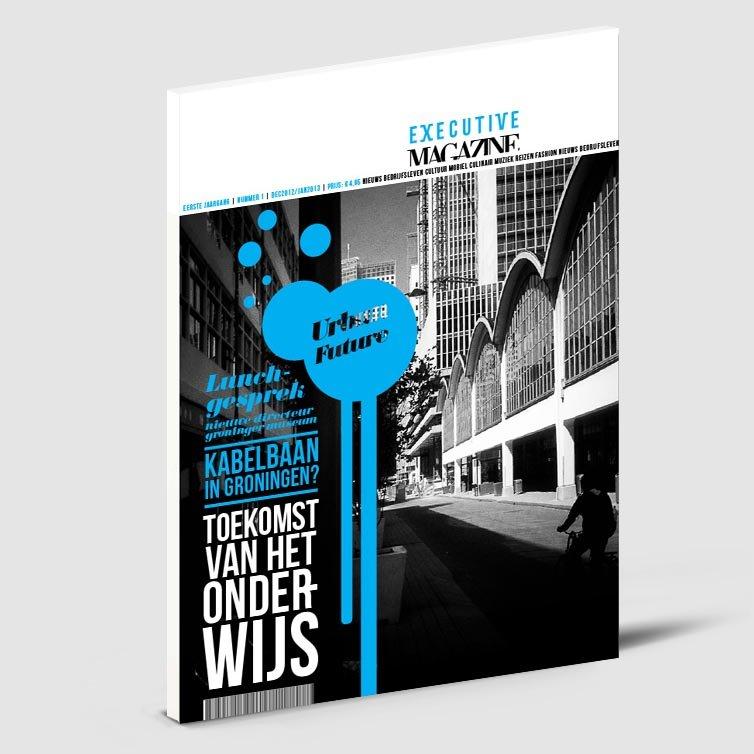 Schriever design | Magazine ontwerp | Executive magazine
