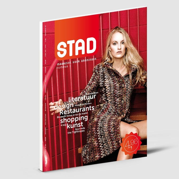 Stad magazine | Schriever design | Magazine ontwerp
