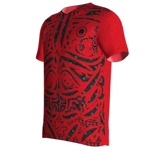 Kledingdesign hardloopshirt | Maori men