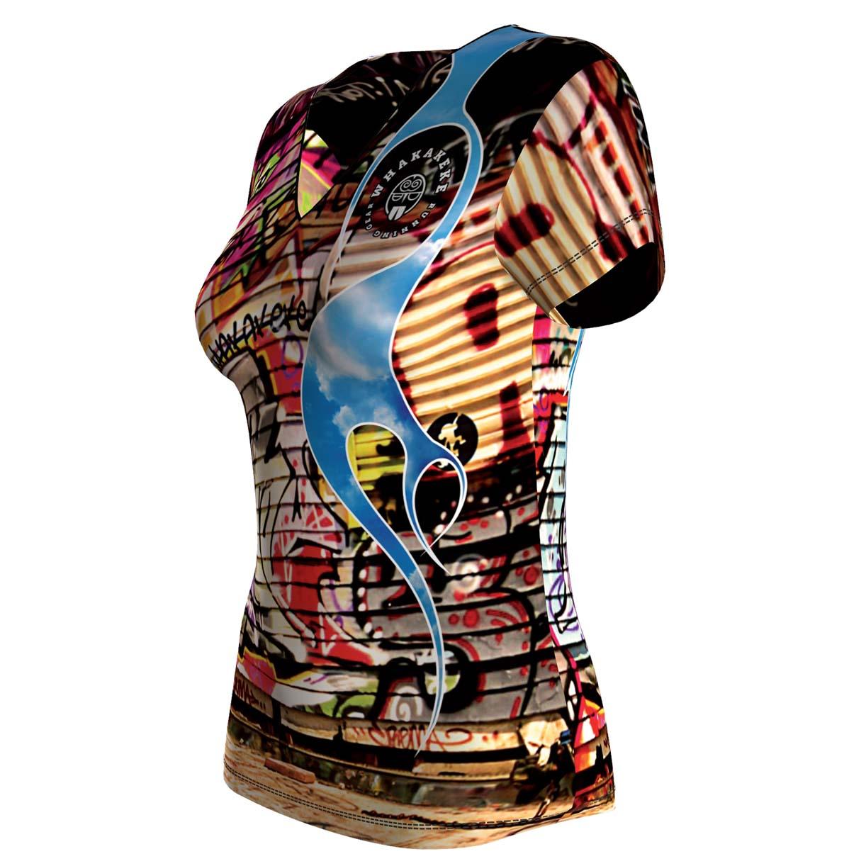 Whakakeke ontwerp hardloopshirt | Women