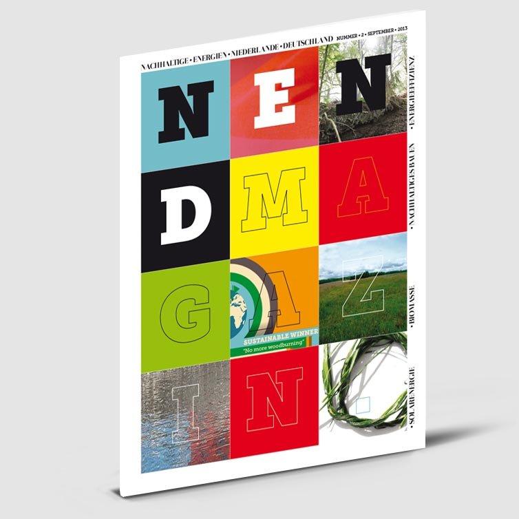 Tijdschrift N en D | Magazine ontwerp | Schriever design