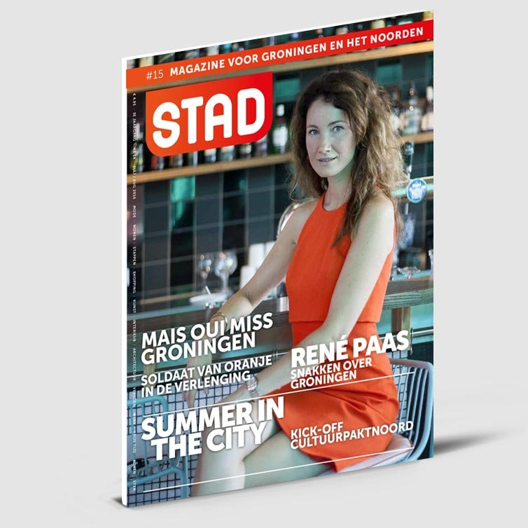 Glossy magazine | Stad | Magazine ontwerp door Schriever design