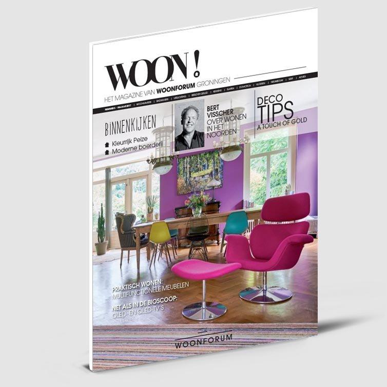 Schriever design magazine ontwerp | Tijdschrift Woon