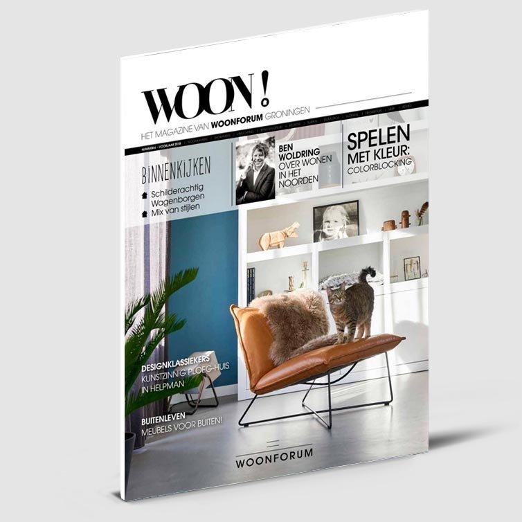 Magazine ontwerp | Tijdschrift | Woon