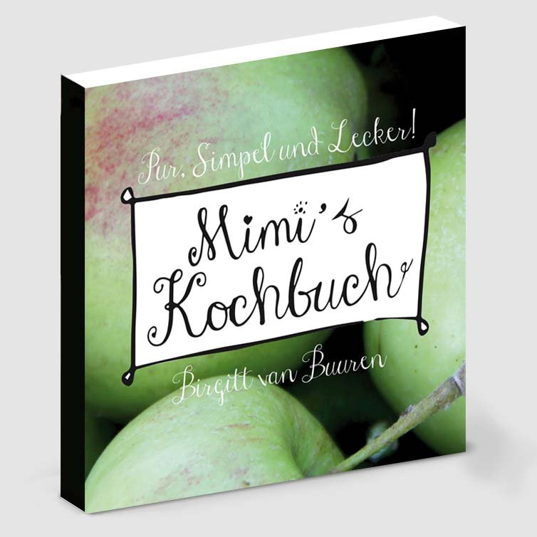 Kookboek ontwerp en illustratie door Schriever design en concept